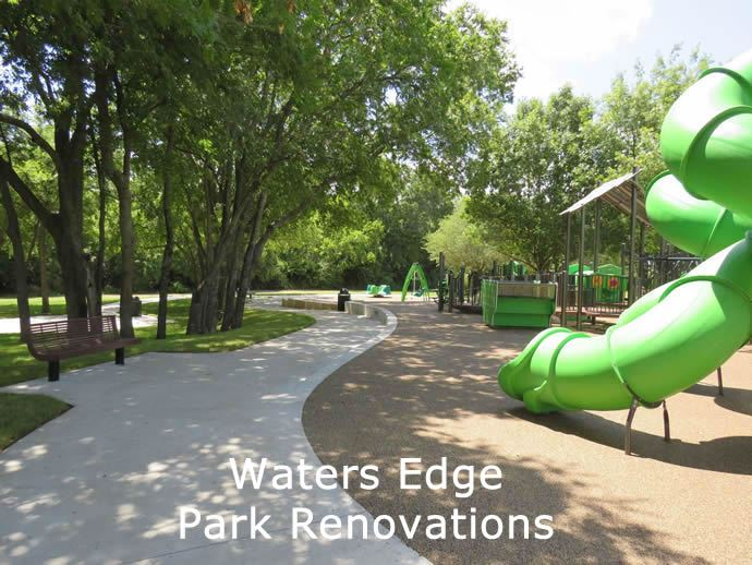 Waters Edge Park Renovations